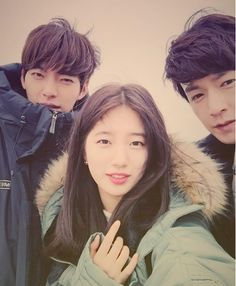 """Uncontrollably Fond"" Kim Woo-bin, Suzy and Im Joo-hwan"