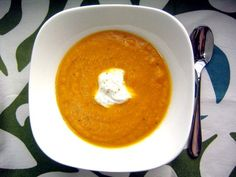 Recipe Review: Indian Spiced Carrot Soup with Ginger