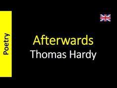 Poetry in English - Sanderlei Silveira: Thomas Hardy - Afterwards
