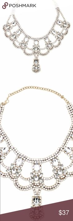 EYE CANDY LOS ANGELES JEWELED DUTCHES NECKLACE 2017 2018 NEW EYE CANDY LOS ANGELES JEWELED DUTCHES NECKLACE / LOW PRICE / FFAST SHIPPINGG! Eye Candy Los Angeles Jewelry Necklaces