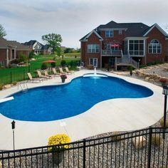 Vinyl Liner Pool Design Ideas, Pictures, Remodel, and Decor