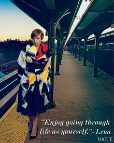"""Enjoy going through life as yourself."" #Inspiration 
