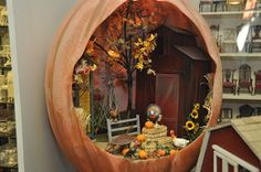 another lovely pumpkin house