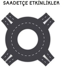 Straaplaten for toddlers roundabout kleuteridee.nl, road for preschool, free printable.