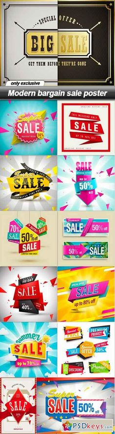 Modern bargain sale poster - 13 EPS - Tap the link to shop on our official online store! You can also join our affiliate and/or rewards programs for FREE! Advertising Design, Marketing And Advertising, Banner Design, Layout Design, Pattern Texture, Summer Banner, Flyer Layout, Best Web Design, Sale Banner