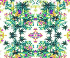 Design de superfície têxtil by Andressa Honório, via Behance