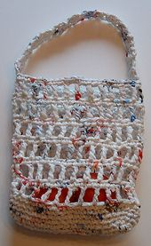 A site with lots of ideas for recycling things into yarn for projects... Lots of great ideas.