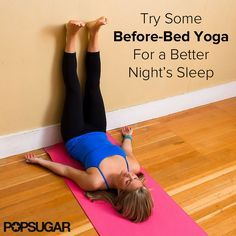 before bed yoga sequence for a better night's sleep