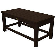 Trex Outdoor Furniture Rockport Club Coffee Table, Vintage Lantern *** Do hope that you love the image. (This is an affiliate link) Recycled Furniture, Outdoor Furniture, Pallet Furniture, Outdoor Tables, Outdoor Decor, Outdoor Living, Patio Tables, Patio Sets, Recycling