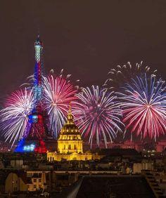 Wonderful Picture, Ferris Wheel, Fair Grounds, France, Instagram, David, Rooftops, Photos, Fire