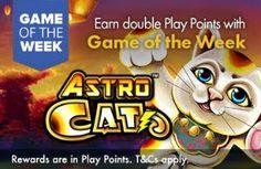 GROSVENOR UK CASINO - Game of the Week - ASTRO CAT!! - UK Casino List
