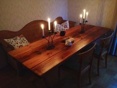 2x6 dining table - Google Search