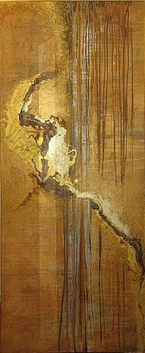 "Nele Kugler  ""Watt"" ""mudflat"" Kunst Abstraktes Landschaft: Strand Gegenwartskunst"