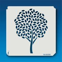 19-00050 Spring Tree Stencil