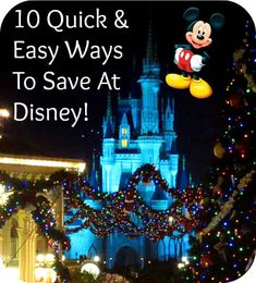 Are you planning a Disney trip on a budget or just looking for some extra ways to save? If so, I've gathered up a few of our most popular posts for your reading (and saving) pleasure! 10 Easy Ways To Save At Disney World! Disney On A Budget, Disney Vacation Planning, Disney World Planning, Disney World Vacation, Disney Vacations, Vacation Trips, Orlando Vacation, Family Vacations, Vacation Ideas