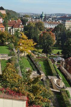 Palace Gardens - Prague Castle Hill