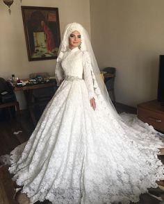 Muslim Wedding Dresses Mermaid Trumpet Vintage Bridal Gowns 2016 ...