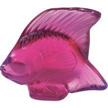 Lalique Fish set of 4