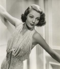 Loretta Young - old hollywood glamour Old Hollywood Style, Hollywood Fashion, Old Hollywood Glamour, Vintage Hollywood, Classic Hollywood, Hollywood Gowns, Hollywood Stars, Hollywood Actresses, Vintage Makeup