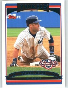2006 Topps Opening Day #96 Derek Jeter - New York Yankees (Baseball Cards) by Topps Opening Day. $2.27. 2006 Topps Opening Day #96 Derek Jeter - New York Yankees (Baseball Cards)