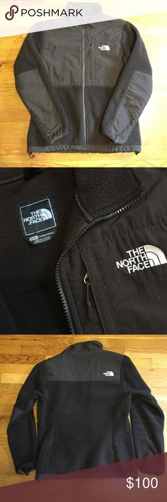 Brown fleece jacket Brown; new condition, 3rd picture shows difference between the black and brown fleece jacket North Face Jackets & Coats
