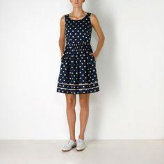 Button Spot Sleeveless Dress // Cath Kidston
