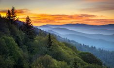 smoky mountain history | Great Smoky Mountains National Park - Morning Haze At Oconaluftee ...