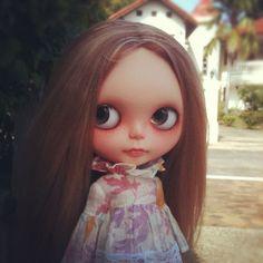 Custom Blythe doll for Cristina !
