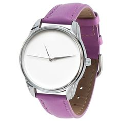 Minimalist Silver Watch Purple Women Casual Wristwatch Stainless Steel Watches - Wristwatches