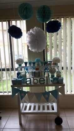 Lolly buffet I put together for my son's baptism. DIY and create something spectacular!