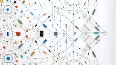 컴퓨터 회로와 마이크로 칩으로 만든 복잡하고 아름다운 만다라 | 크리에이터 프로젝트    Leonardo Ulian