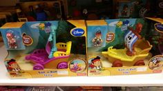 GIrls' and boys' pirate ship toys (thanks @ MCIcsusm!)