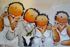 bruiloft dikke dames! Love it!