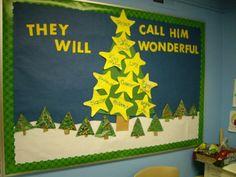 christian bulletin board ideas   Christmas Bulletin Board   Holiday Crafty Ideas