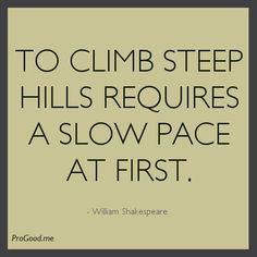Words of wisdom for William Shakespeare, as true now as it was then.