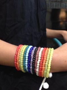 Kade Rainbow - Long Beaded Before A$39.95 NOW ON SALE A$24.95 Friendship Bracelets, Jewelry Accessories, Rainbow, Fashion, Rain Bow, Moda, Jewelry Findings, Rainbows, La Mode