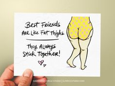 Best Friend Birthday Card Friendship Card Thinking of You Card Funny Friend Card Just Because Card Best Friend Card Funny Cards Birthday Puns, Birthday Captions, Funny Birthday Cards, Bday Cards, Friendship Puns, Friend Friendship, Funny Greeting Cards, Funny Cards, Lines For Best Friend