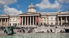 Trafalgar Square is home to Nelson's Column, iconic stone lions, the famous Fourth Plinth and a lot of pigeons.