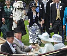 A wave to mum 😊 . The Queen attended Royal Ascot today, along with The Prince of Wales; Duchess of Cornwall; the Princess Royal; Duchess Of Cornwall, Duchess Of Cambridge, Victoria Pendleton, Charlotte Hawkins, Sister In Law, Brother, Royal Ascot, Prince Of Wales, Prince Charles