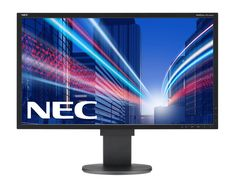 "NEC Display MultiSync EA244WMI-BK 24"" LED Monitor. NEC Display MultiSync EA244WMI-BK 24"" LED Monitor, 16:10, 5ms, 1920x1200, 350 Nit, 1000:1, DVI/HDMI/VGA/USB/DisplayPort, Speaker."