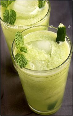 cucumber lemonade by Ravenous Couple, via Flickr