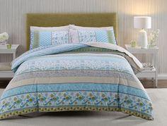 Celine Flannelette Quilt Cover Set | Bed Bath N' Table