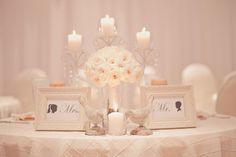 sweetheart table idea. a must do!