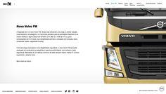 Página interna - Folheteria Volvo. Redatora Patricia Schmidt. Commcepta Brand Design.
