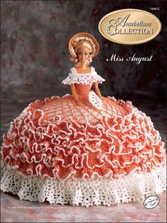 Crochet - Doll Patterns - Bed Doll Patterns - The Antebellum Collection Miss August 1991