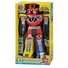 """Fisher-Price Imaginext Power Rangers Morphing Megazord - Fisher-Price - Toys """"R"""" Us"""