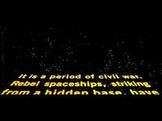 There's A Star Wars Title Crawl Generator And You Can Type Anything Into It | Space