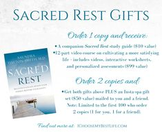 "Seven types of rest are defined in this new book by Dr. Saundra Dalton-Smith which will help you finally answer the question ""Why am I tired all the time?"""