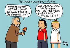 #Cartoon 16/06: 70 jaar Suske en Wiske