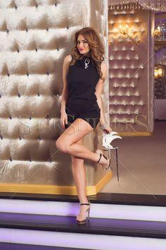 Fofy Unbridle Couture Black Jumpsuit